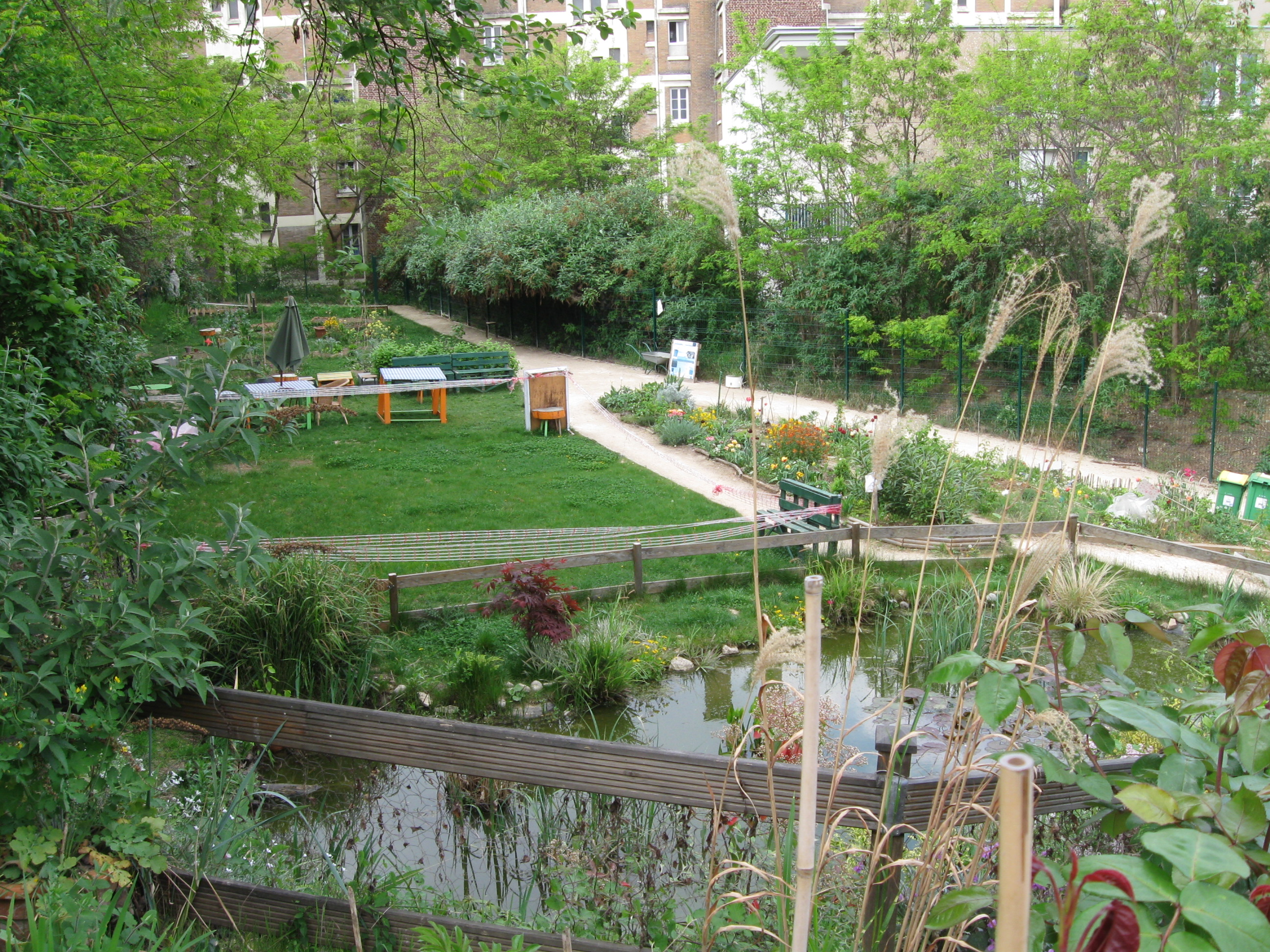 Jardin de l 39 aqueduc jardinons ensemble for Le jardin du maraicher 91