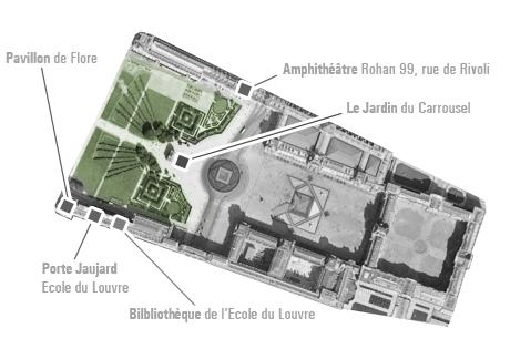 Cours de l cole du louvre jardins et nature paris aux - Comptoir des tuileries cours de l or ...